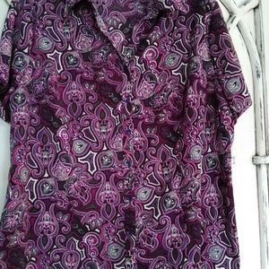 Paisley shirt by Fred David. 2x